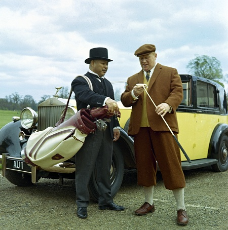 Phantom lll Rolls Royce aus GOLDFINGER