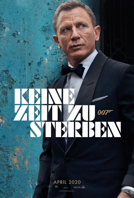 Das offizielle deutsche Teaser-Poster zu KEINE ZEIT ZU STERBEN (Online)© Universal Pictures