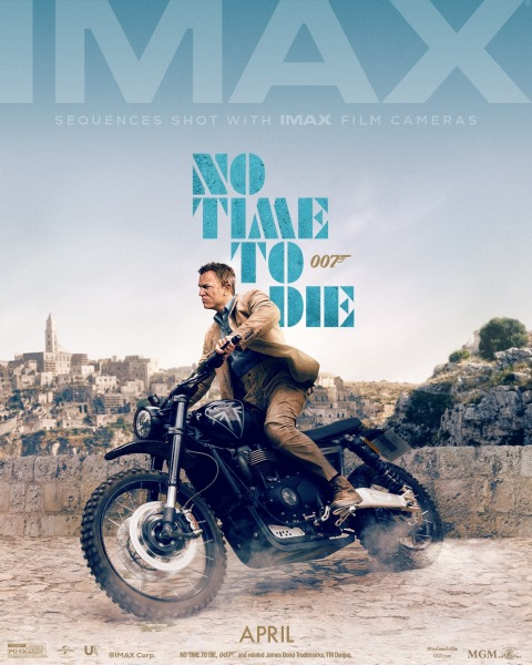 IMAX Poster NO TIME TO DIE