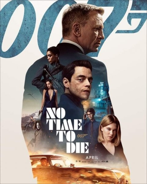 Erstes internationales Poster zu NO TIME TO DIE