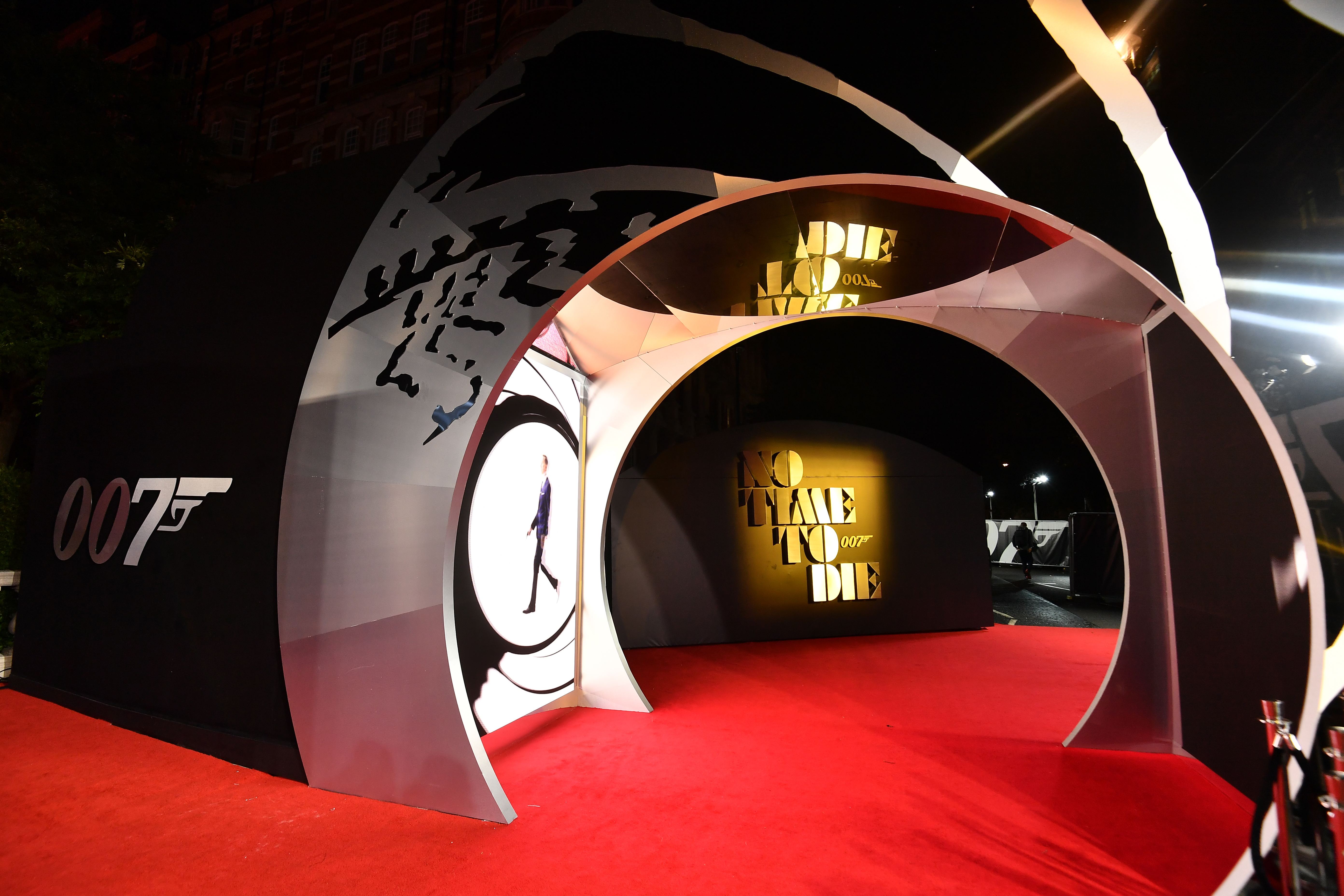 """World Premiere Of """"NO TIME TO DIE"""" - Red Carpet"""