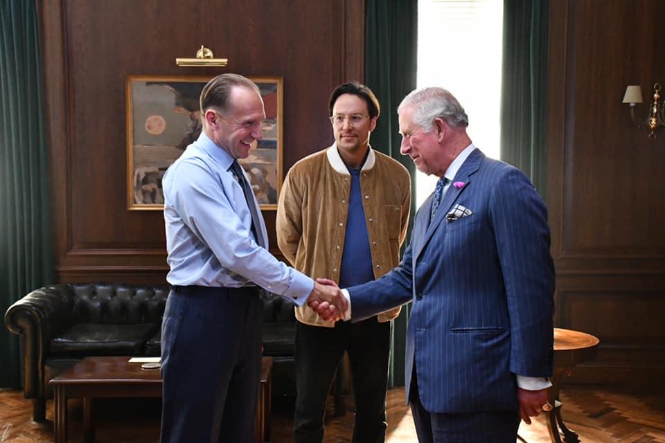 Ralph Fiennes, Cary Fukunaga und Prinz Charles