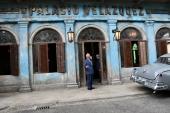 Prinz Charles am Kuba-Set von BOND 25