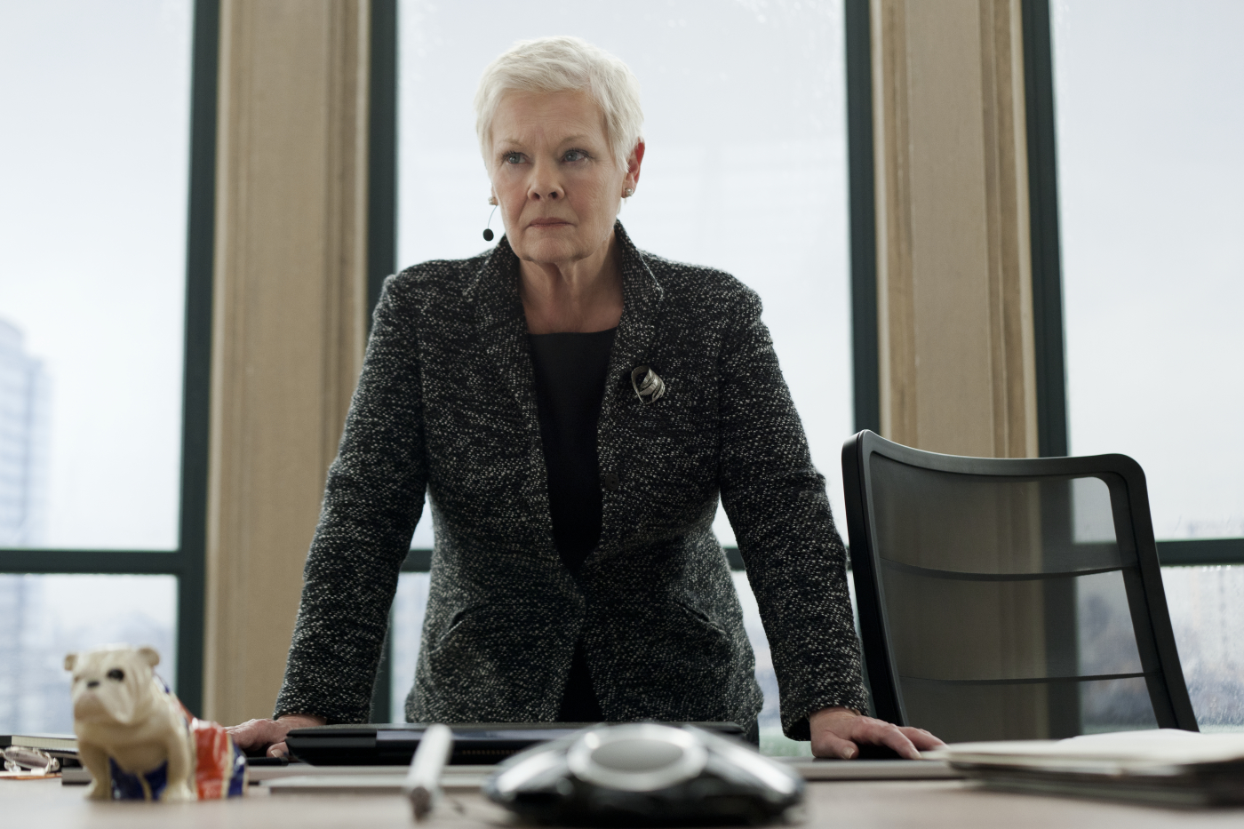 Judi Dench (M) in Sony Pictures\' SKYFALL. © 2012 Sony Pictures Releasing GmbH