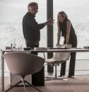 Mendes und Seydoux am Set in Österreich