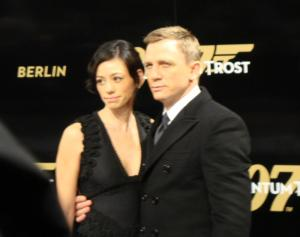 Daniel Craig mit seiner Freundin