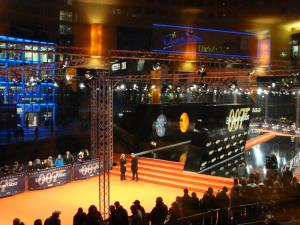 Roter Teppich vor dem CineStar im Sony Center