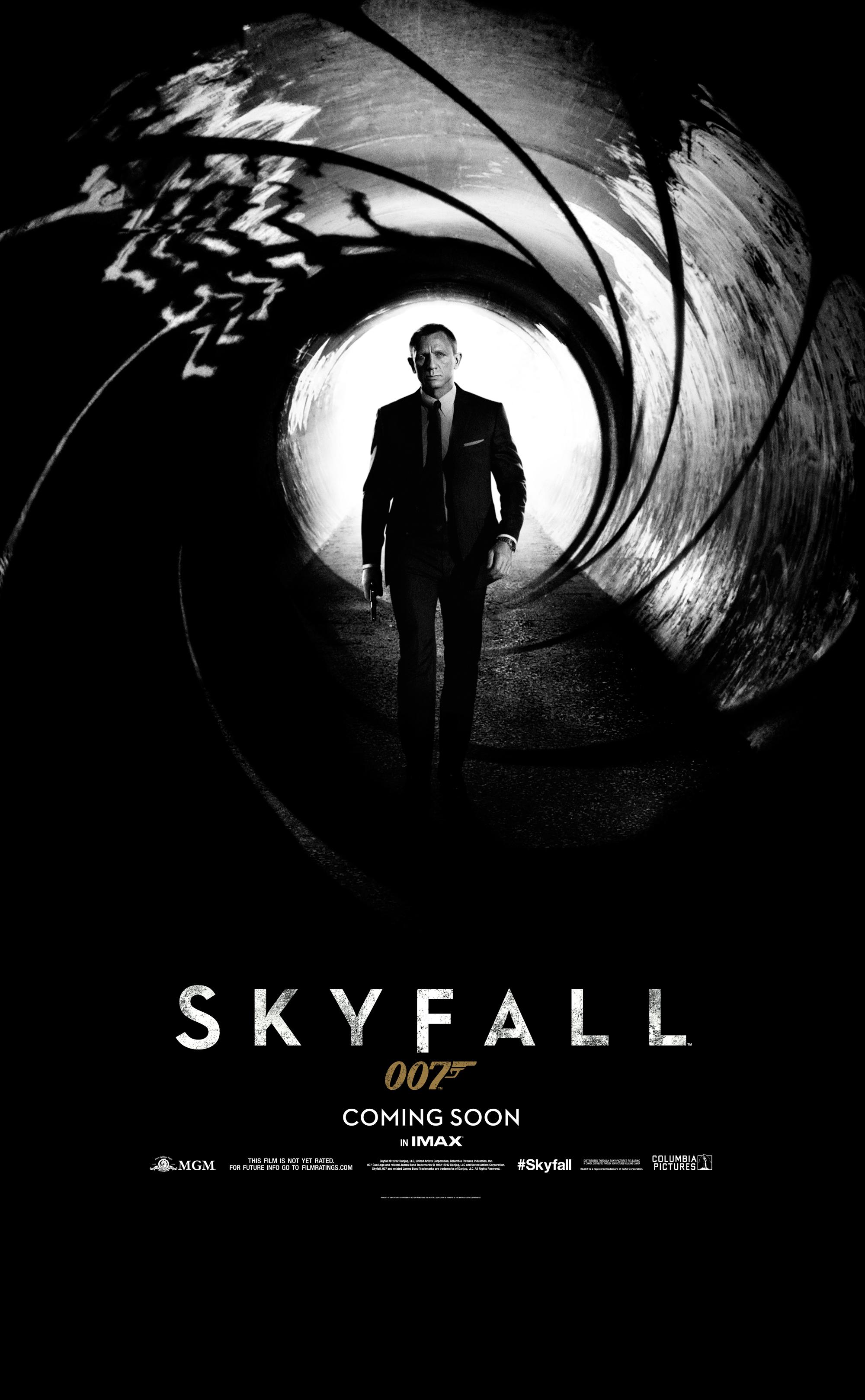 Teaser Poster Zu Skyfall Erschienen Jamesbond De