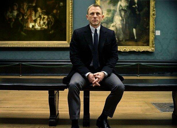 James Bond in der National Art Gallery