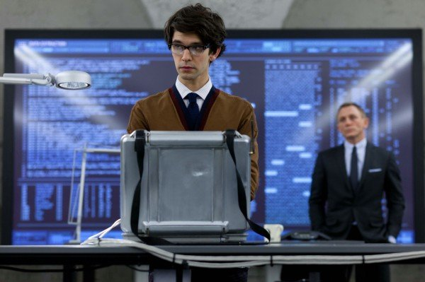 Ben Whishaw (Q) in Sony Pictures' SKYFALL. © 2012 Sony Pictures Releasing GmbH