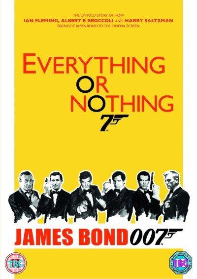 """Das englische DVD-Cover zu """"Everything Or Nothing"""""""