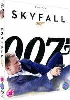 Das SKYFALL-Blu-Ray-Cover UK
