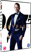 Das SKYFALL-DVD-Cover UK