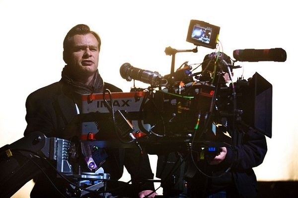 Christopher Nolan am Set von THE DARK KNIGHT RISES © Warner Bros.