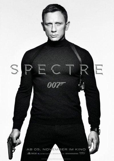 Das deutsche Teaser-Plakat zu SPECTRE © 2015 Sony Pictures Releasing GmbH