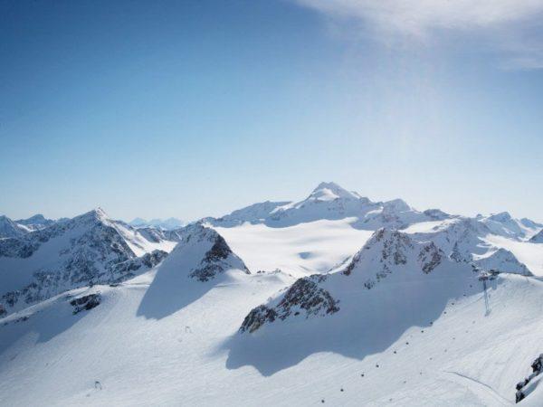 Der Rettenbachferner in den Ötztaler Alpen