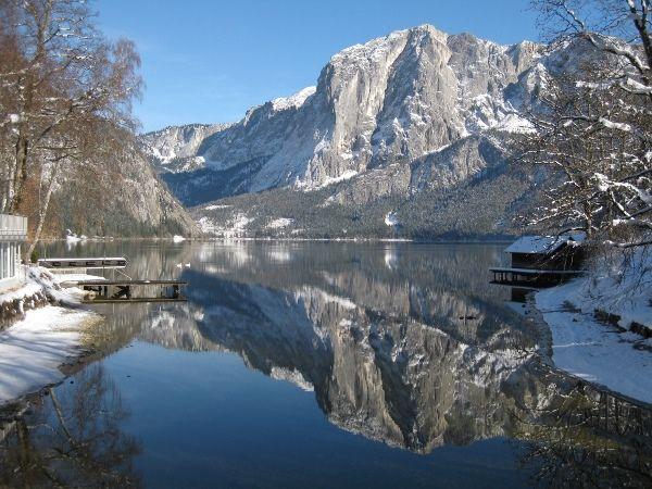Blick auf den landschaftlich beeindruckenden Altausseer See © BMLFUW/Gabriele Müller