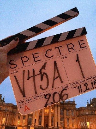 Das neueste Klappenbild vom Blenheim Palace. SPECTRE © 2015 Danjaq, LLC, United Artists Coporation, Columbia Pictures Industries Inc. All rights reserved.