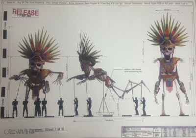 SPECTRE Film Prop Concept Art