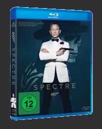 Das deutsche SPECTRE-Blu-Ray-Cover © 20th Century Fox Home Entertainment