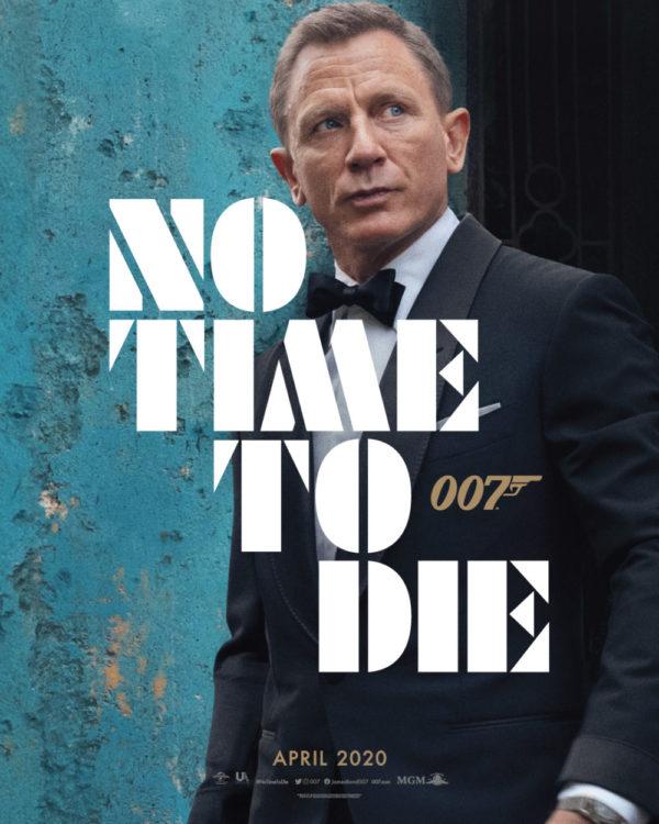 Das erste Filmplakat zu No Time To Die