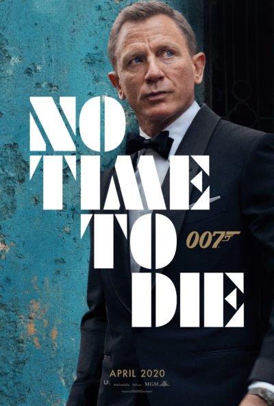 Das englische Teaser Poster zu No Time To Die in hoher Qualität.