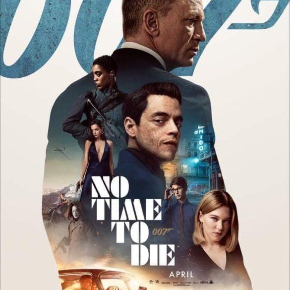 Weiteres Poster zu NO TIME TO DIE veröffentlicht