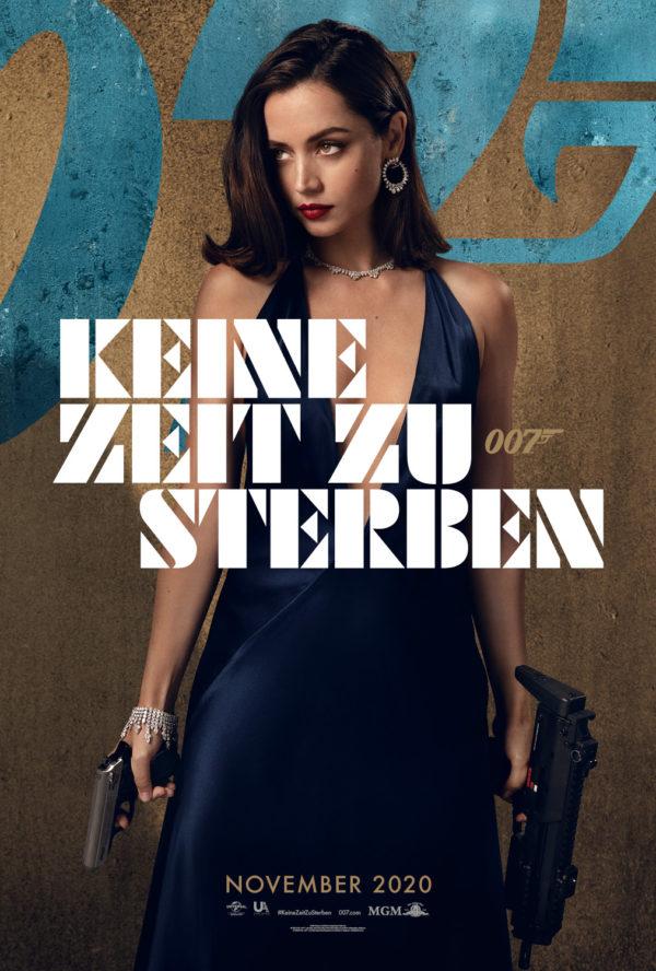 Die neuen deutschen Poster zu KEINE ZEIT ZU STERBEN